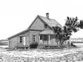 Maison de ferme coloniale