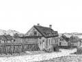 Vieille maison à trois lucarnes