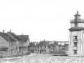 Place du Feu rouge dans les années 1940