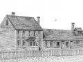 Ancienne habitation et bâtiments de la Morue française