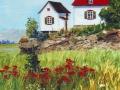 Maison au bord du fleuve à l'Isle-aux-Grues