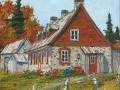 Maison québécoise en pierres