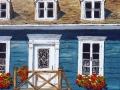 Façade d'une maison québécoise