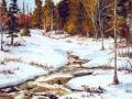 Ruisseau à la fonte des neiges