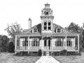 Maison de style cottage Regency
