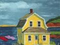 Maison à toit Mansard