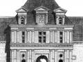Pavillon d'entrée du château de Champigny-sur-Veude