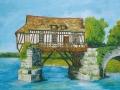 Maison bâtie sur un ancien pont