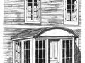 Tambour fixe à toit arrondi